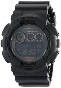 G-Shock GD-120 Military Black Sports Stylish Watch