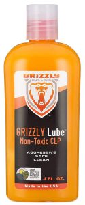 Grizzly Lube Non-Toxic CLP – Best Smell for Sensitive Skins and Noses