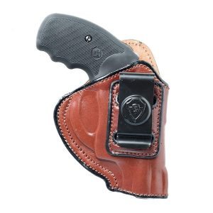 Cardini Leather USA IWB Holster Ruger LCR 38 Spl + 2 Inch Barrel – Easy to Draw