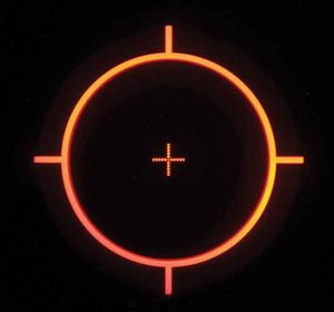 ACOG Self illuminating Reticle