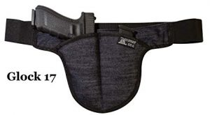 Large DTOM Denim Possum Pouch Crotch Carry Holster