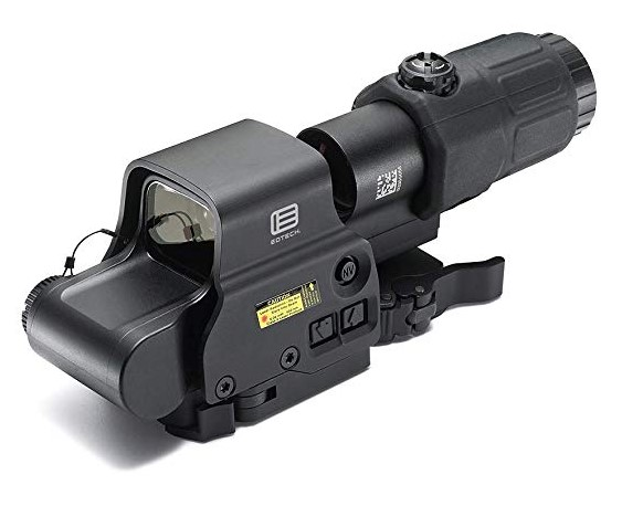 red dot with magnifier combo