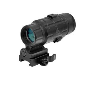 UTG 3X Magnifier with Flip-to-side QD Mount