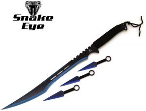 Snake Eye Tactical Ninja Sword and Kunai