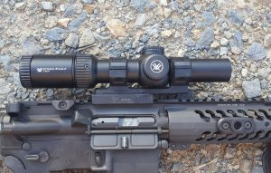 Vortex Optics Eagle strike Mounted